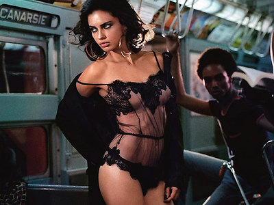 Most wanted Adriana Lima in hot lingerie for Tokyo Magazine!