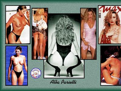 Alba Parietti The best paparazzi beach pics!