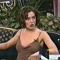 Alyssa Milano in Tonight Show