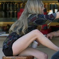Amanda Seyfried Hot Legs In Short Shorts