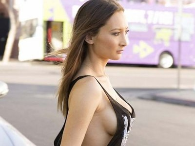 Amy Markham and her juicy boobs on public!