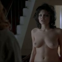 Angelina Jolie exposing her boobs in 'Gia'
