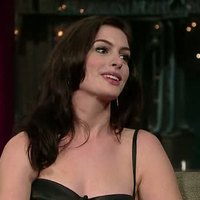 Anne Hathaway in Tonight Show David Letterman
