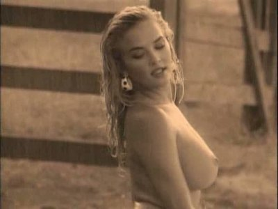 Brandy Ledford exposed in a commercial!