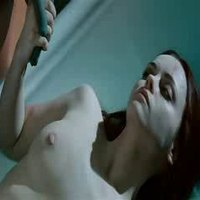 Christina Ricci exposing her pale body in 'After Life'