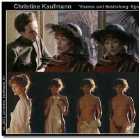 Kaufmann nude christine Christine Kaufmann