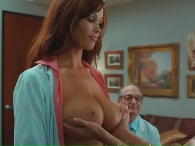 Christine Smith showing her stunning boobs in 'Bad Teacher'