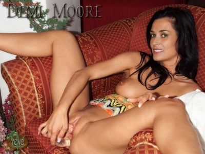 Demi Moore Fake