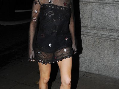 Ellie Goulding see-through shots