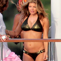 Stacy Ferguson Fergie Hot Bikini Photos