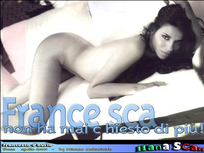 Nackt Francesca DAuria  Francesca D'Auria