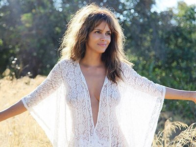 Halle Berry very hot see-through