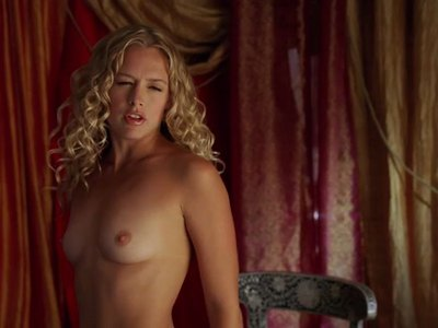 Heather Storm topless in Epic Movie