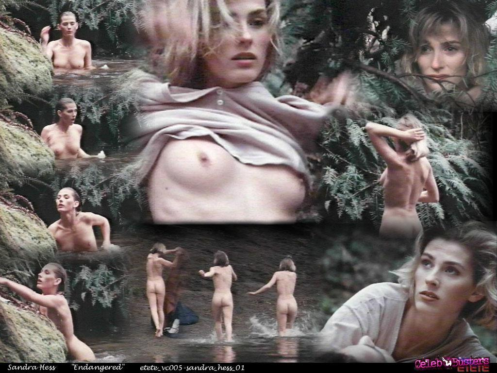 sandra hess nude scene