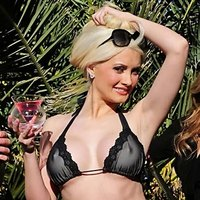 Holly Madison Bikini Promo For Svedka