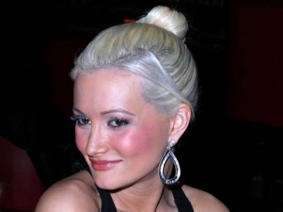 Holly Madison Hot Fake Cleavage