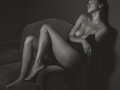 Irina Shayk Beautiful Nude Body