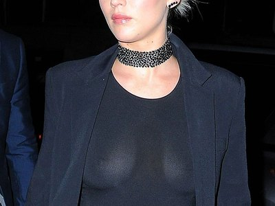 Jennifer Lawrence see-through shots
