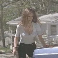 Jennifer Love Hewitt down blouse tease in 'I Know What You Did Last Summer'