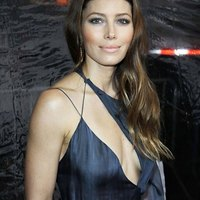 Jessica Biel on a red carpet
