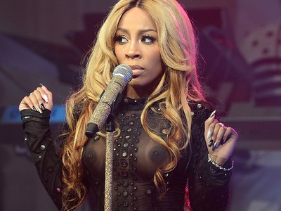 K Michelle See Through Nipples