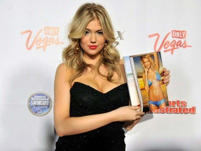 Kate Upton Bust Out Cleavage