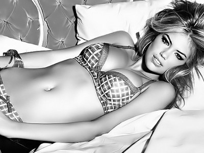 Kate Upton very hot pics for Guess