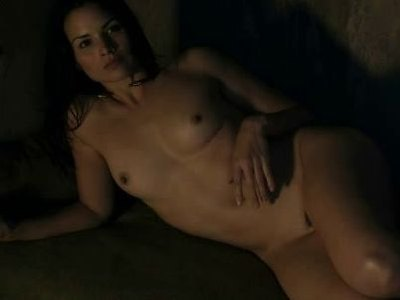 Katrina Law in a hot scene from Spartacus