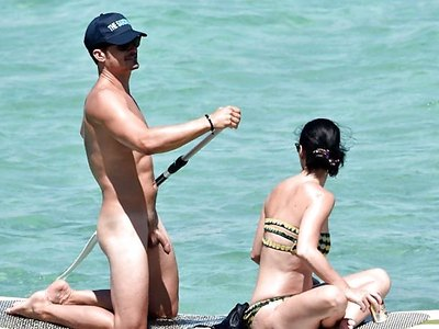 Katy Perry And Orlando Bloom Naked On Vacation