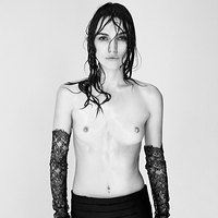 Keira Knightley Topless Slender Treats In Interview Magazine