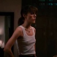 Keira Knightley in almost see-through cloths in 'Last Night'