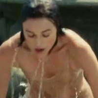 Keira Knightley in wet clothes in The Atonement