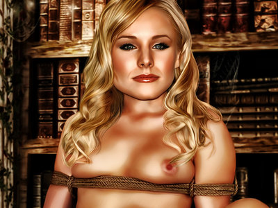 Kristen Bell in Celebs Dungeon