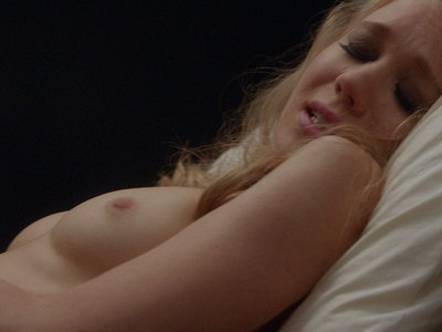 Kristen Hager topless and sexy