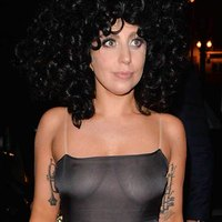 Lady Gaga See Through To The Gagas In Belgium