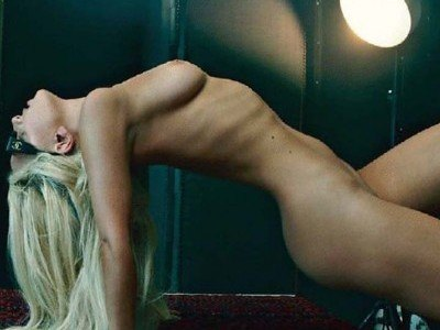 Lady Gaga explicit photos for Vanity Fair magazine