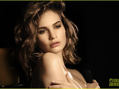 Lily James Smells Good Topless