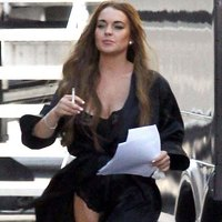 Wind loves Lindsay Lohan