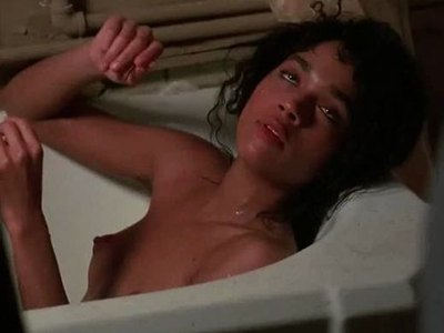 Lisa Bonet teasing scenes from 'Angel Heart'