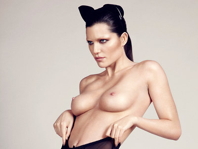 Louise Cliffe Topless Goodies In Billie Scheepers Photoshoot 2014
