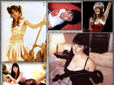 Hot pictures with Lucy Lawless