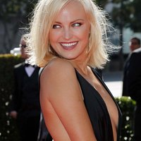 Provocative dress of Malin Akerman
