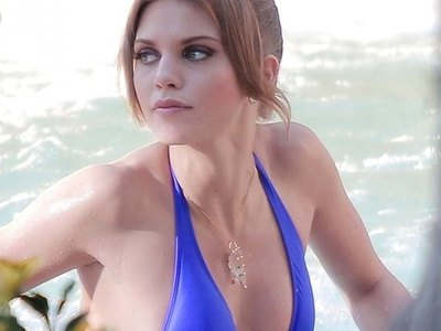 Annalynne Mccord Sexy In A Swimsuit