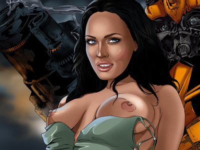 Megan Fox Comics
