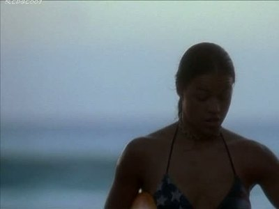 Young and busty Michelle Rodriguez in 'Blue Crush'
