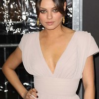 Mila Kunis Sweet Little Cleavage