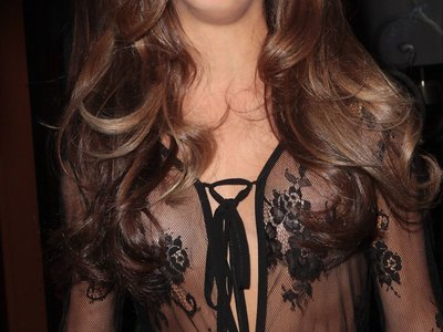 Nikki Grahame see-through shots