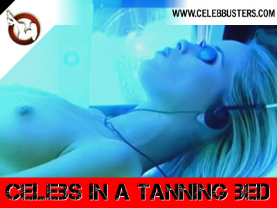 Nude Celebs in a Tanning Bed