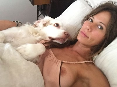 Rhona Mitra leaked boobs and pussy