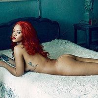 Rihanna Beautiful Ass In Vanity Fair